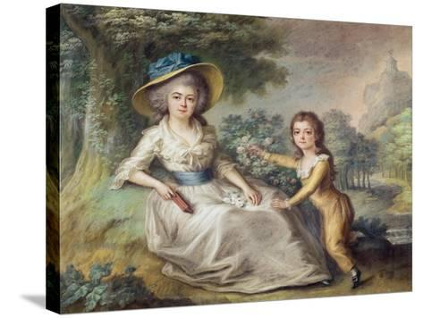 Marie Dupin De Francueil--Stretched Canvas Print