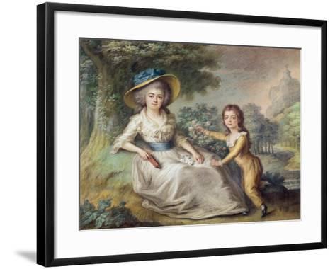 Marie Dupin De Francueil--Framed Art Print