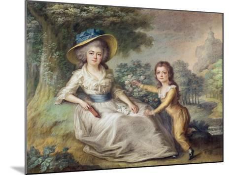 Marie Dupin De Francueil--Mounted Giclee Print
