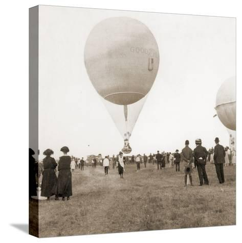 Spectators at a Balloon Race in Texas, Usa 1932--Stretched Canvas Print