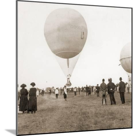 Spectators at a Balloon Race in Texas, Usa 1932--Mounted Photographic Print