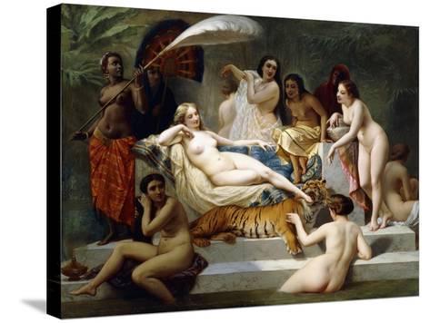 Odalisque, 1858-Henri Pierre Picou-Stretched Canvas Print