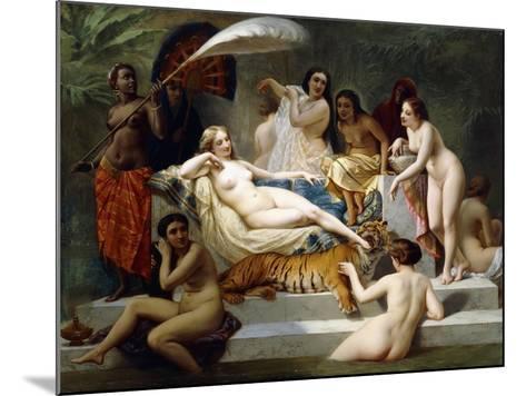 Odalisque, 1858-Henri Pierre Picou-Mounted Giclee Print