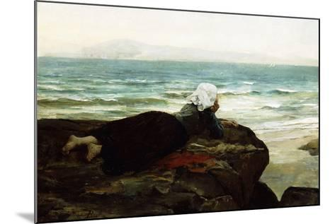 Looking Out to Sea-Jules Breton-Mounted Giclee Print