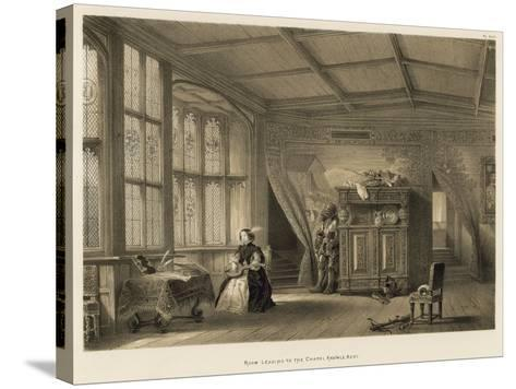 Room Leading to the Chapel, Knowle, Kent-Joseph Nash-Stretched Canvas Print
