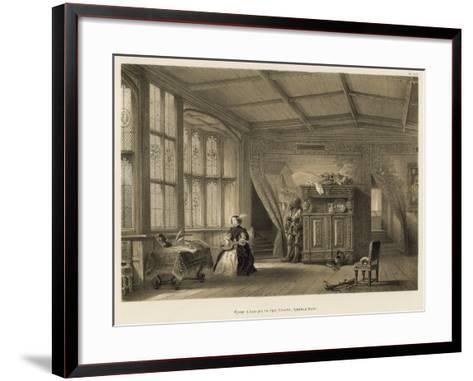Room Leading to the Chapel, Knowle, Kent-Joseph Nash-Framed Art Print