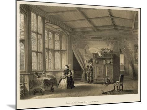 Room Leading to the Chapel, Knowle, Kent-Joseph Nash-Mounted Giclee Print