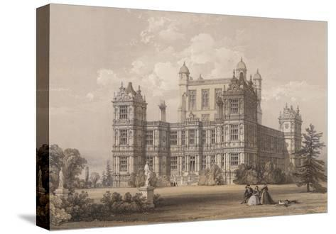 Wollaton Hall, Nottinghamshire-Thomas Allom-Stretched Canvas Print