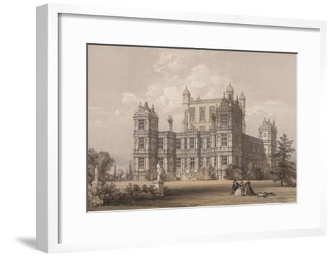 Wollaton Hall, Nottinghamshire-Thomas Allom-Framed Art Print