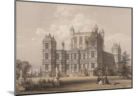 Wollaton Hall, Nottinghamshire-Thomas Allom-Mounted Giclee Print