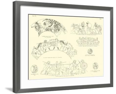 Homer's Iliad--Framed Art Print