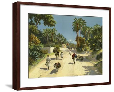 Tripoli, Libya, Africa--Framed Art Print