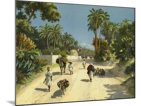 Tripoli, Libya, Africa--Mounted Giclee Print