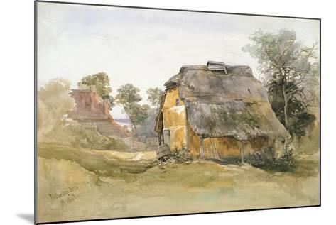 An Old Barn at Tunbridge Wells-John Middleton-Mounted Giclee Print