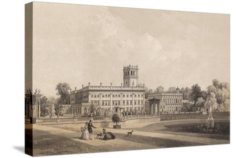 Trentham Hall, Staffordshire--Stretched Canvas Print
