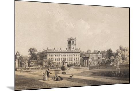 Trentham Hall, Staffordshire--Mounted Giclee Print
