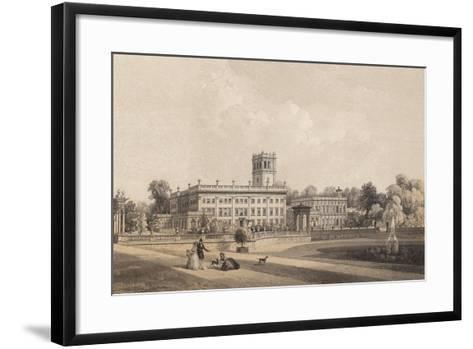 Trentham Hall, Staffordshire--Framed Art Print