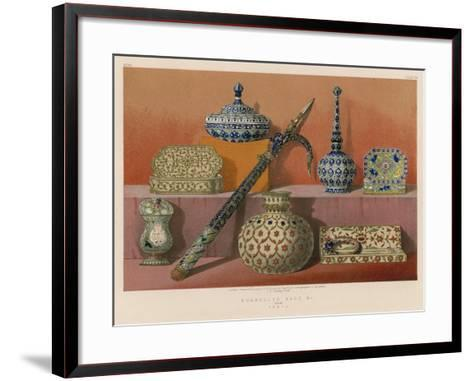 Enamelled Ware Etc from India--Framed Art Print
