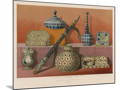 Enamelled Ware Etc from India--Mounted Giclee Print