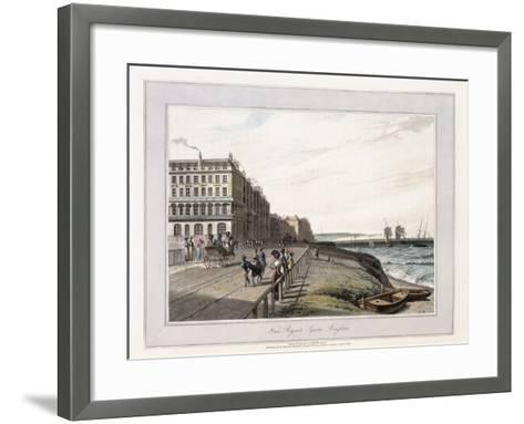 Near Regents Square, Brighton, C.1814-1825-William Daniell-Framed Art Print