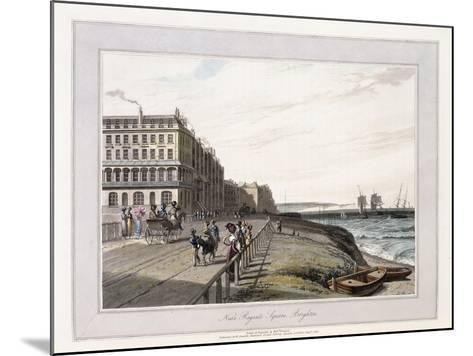 Near Regents Square, Brighton, C.1814-1825-William Daniell-Mounted Giclee Print