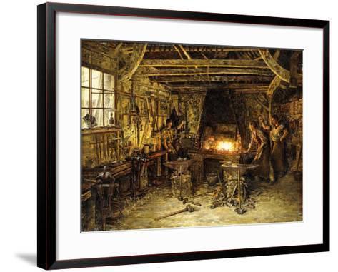 Glassmakers-Marie Francois Firmin-Girard-Framed Art Print