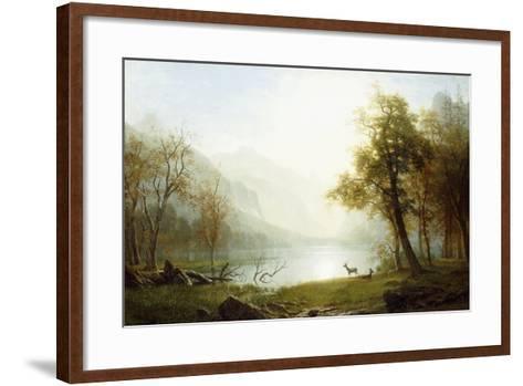 Valley in King's Canyon-Albert Bierstadt-Framed Art Print