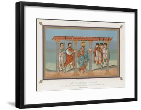 Saint Paul Announcing the Gospel--Framed Art Print