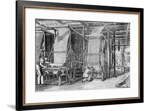 Calico Printing--Framed Art Print