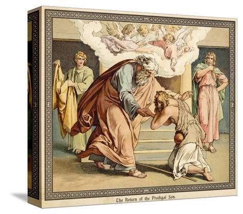 The Return of the Prodigal Son--Stretched Canvas Print