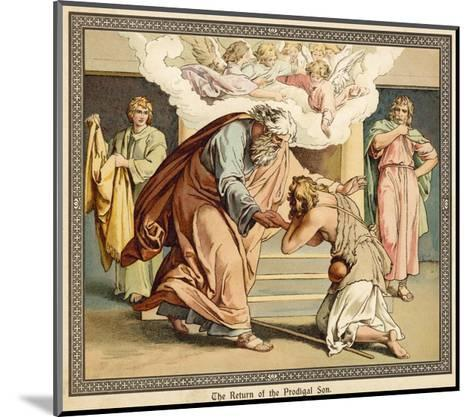 The Return of the Prodigal Son--Mounted Giclee Print