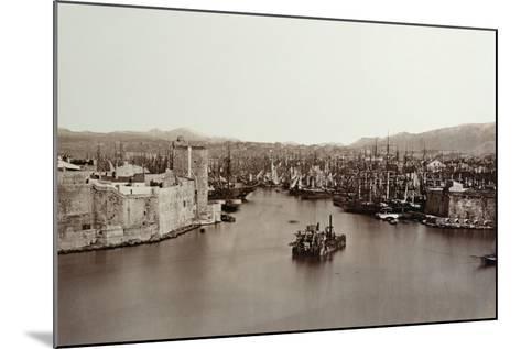 The Port of Marseille, C.1859-Edouard-Denis Baldus-Mounted Photographic Print