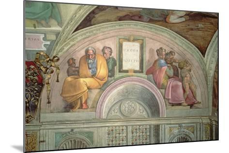 Jacob and Joseph, Sistine Chapel--Mounted Giclee Print