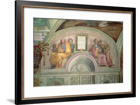 Jacob and Joseph, Sistine Chapel--Framed Art Print