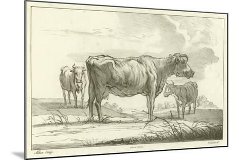 Three Cows-Aelbert Cuyp-Mounted Giclee Print