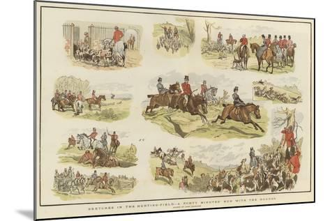 Sketches in the Hunting Field-John Charlton-Mounted Giclee Print