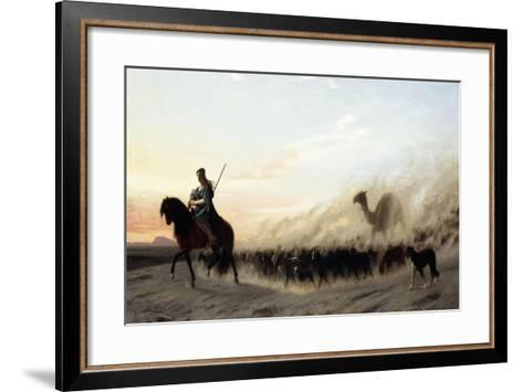 The Syrian Shepherd, 1865-Jean Leon Gerome-Framed Art Print