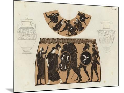 Greek Vase Painting--Mounted Giclee Print
