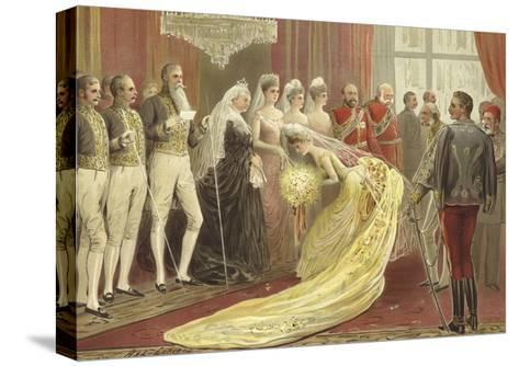 Jubilee Drawing Room, 1887-Henry Stephen Ludlow-Stretched Canvas Print