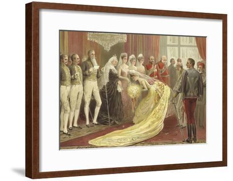 Jubilee Drawing Room, 1887-Henry Stephen Ludlow-Framed Art Print