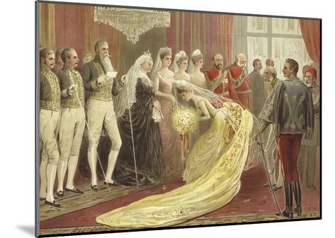 Jubilee Drawing Room, 1887-Henry Stephen Ludlow-Mounted Giclee Print
