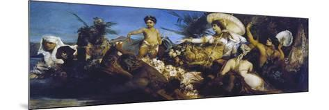 Cleopatra on Nile, Circa 1875-Hans Makart-Mounted Giclee Print