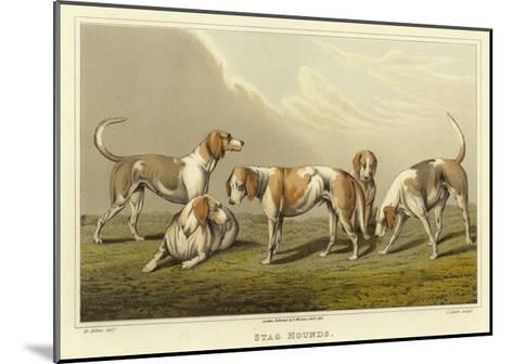 Stag Hounds-Henry Thomas Alken-Mounted Giclee Print