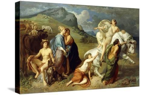 Europa-Johann Paul Adolf Kiessling-Stretched Canvas Print