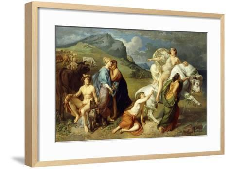 Europa-Johann Paul Adolf Kiessling-Framed Art Print