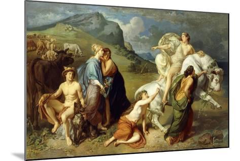 Europa-Johann Paul Adolf Kiessling-Mounted Giclee Print