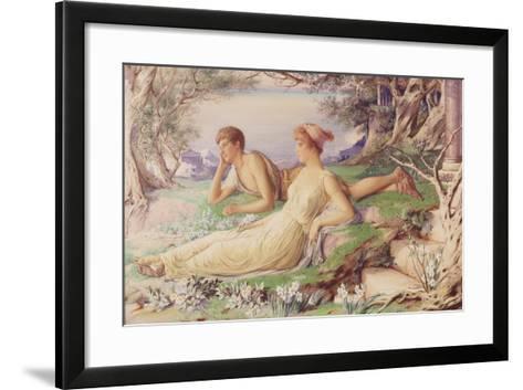 Dreamland, 1884-Percy Anderson-Framed Art Print