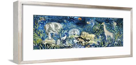 Wildlife Paradise; Tierparadies, 1939-Oskar Schlemmer-Framed Art Print