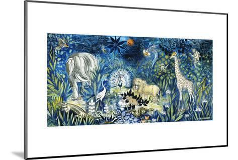 Wildlife Paradise; Tierparadies, 1939-Oskar Schlemmer-Mounted Giclee Print