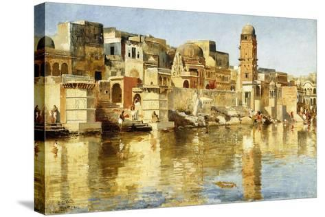 Muttra, 1888-Edwin Lord Weeks-Stretched Canvas Print